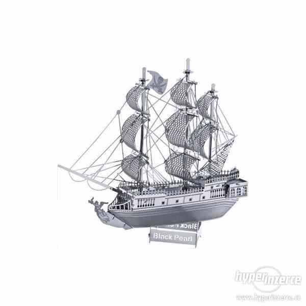 3D kovové puzzle - foto 8