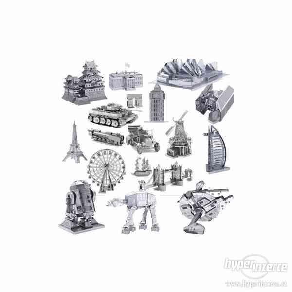3D kovové puzzle - foto 12