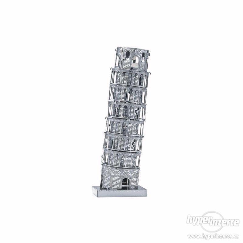 3D kovové puzzle - foto 1