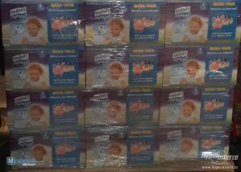 Prodám dětské jednorázové pleny značek Toujours, Babydream, - foto 2
