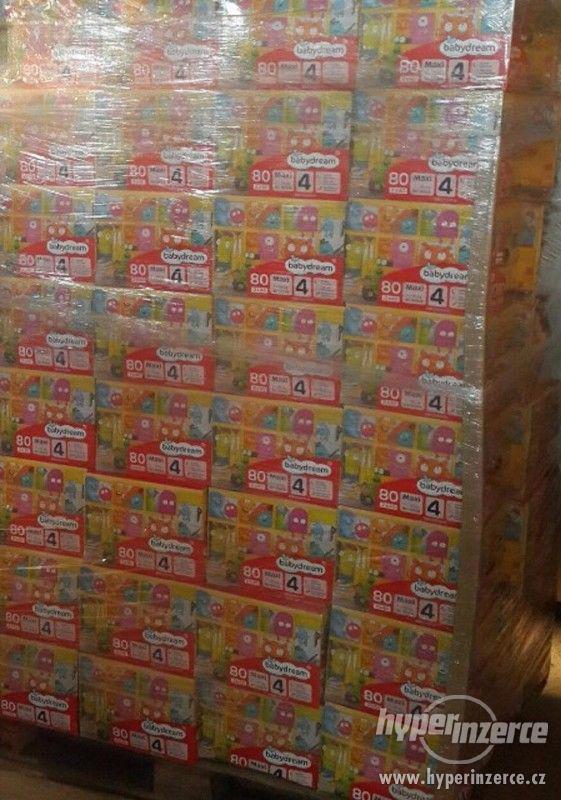 Prodám dětské jednorázové pleny značek Toujours, Babydream, - foto 3