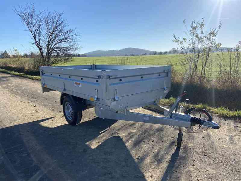 NEPTUN/ TRIGANO - 1300 kg - 263x145x40cm - přívěsný vozík - foto 5