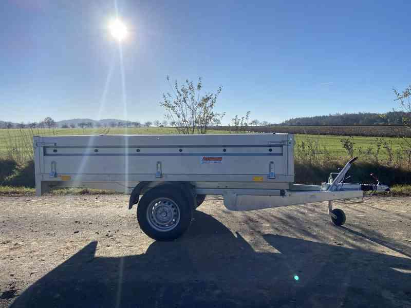 NEPTUN/ TRIGANO - 1300 kg - 263x145x40cm - přívěsný vozík - foto 2