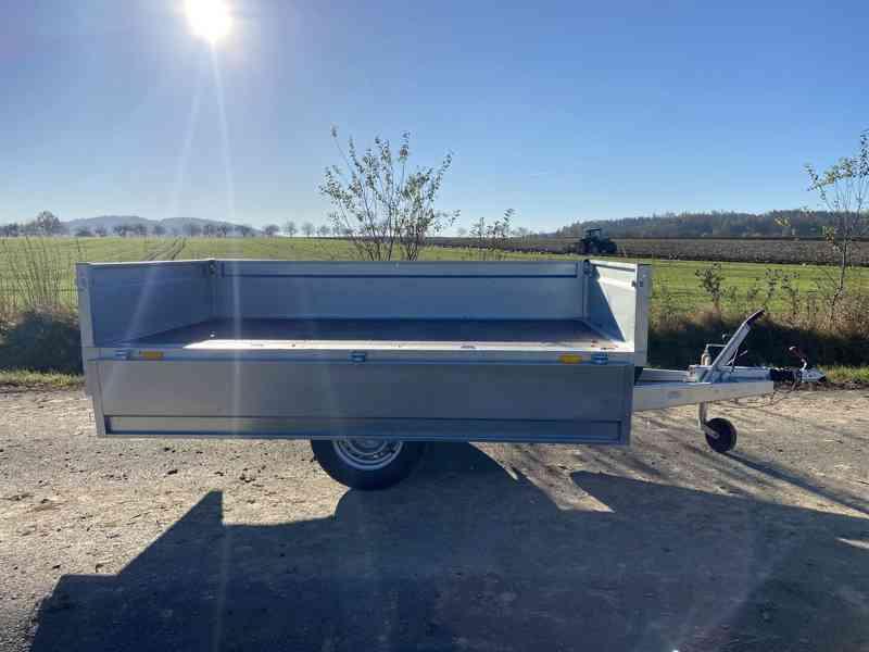 NEPTUN/ TRIGANO - 1300 kg - 263x145x40cm - přívěsný vozík - foto 4