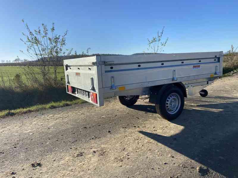 NEPTUN/ TRIGANO - 1300 kg - 263x145x40cm - přívěsný vozík - foto 1