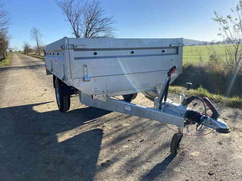 NEPTUN/ TRIGANO - 1300 kg - 263x145x40cm - přívěsný vozík - foto 3