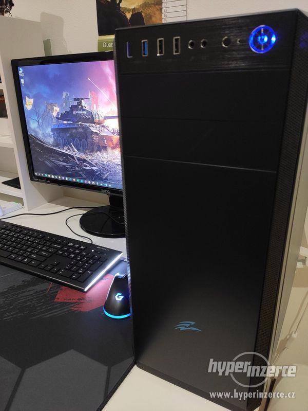 Herní počítač 16 GB RAM, Ryzen... + příslušenství + ZÁRUKA