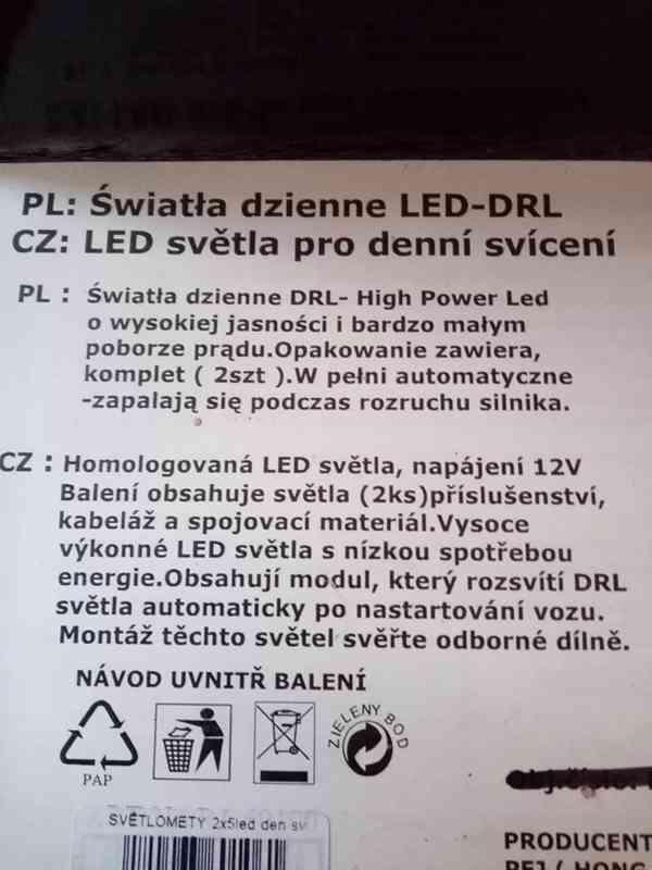Led světla pro denní svícení  - foto 3