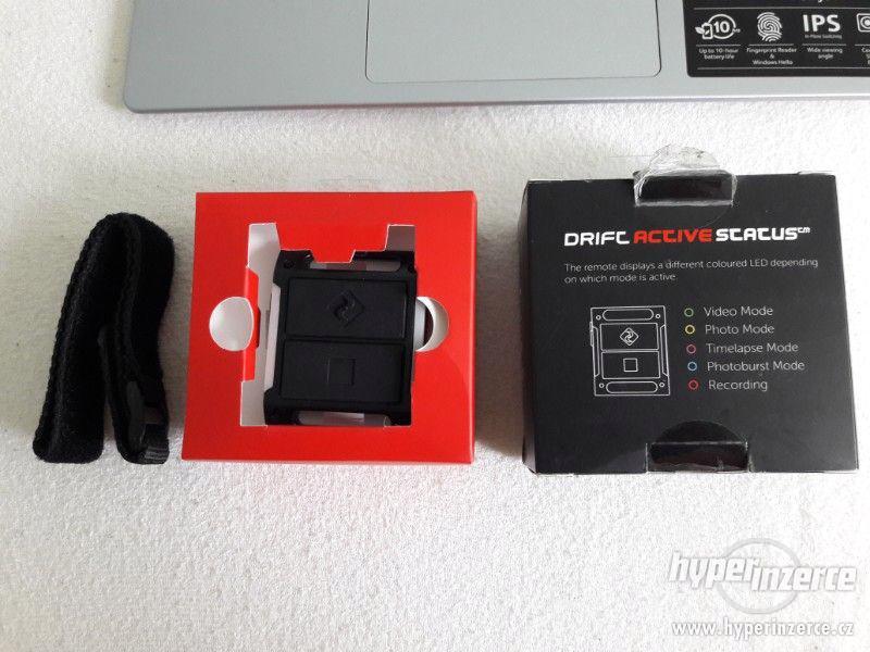 Prodám originální dálkové ovládání kamery Drift Ghost / S - foto 5