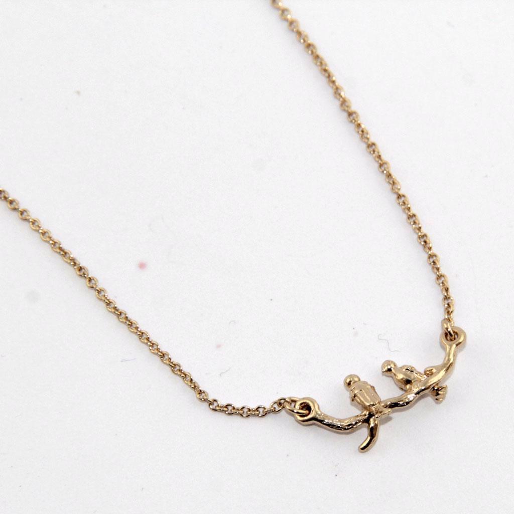 Banana Republic - Jemný náhrdelník s ptáčky Velikost: OS - foto 1