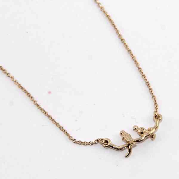 Banana Republic - Jemný náhrdelník s ptáčky Velikost: OS