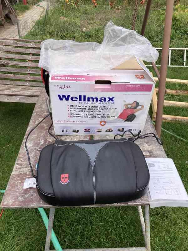 Masážní polštář Wellmax - Švýcarsko