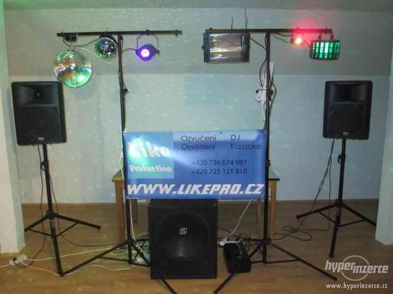 DJ, ozvučení, osvětlení na všechny typy akcí!