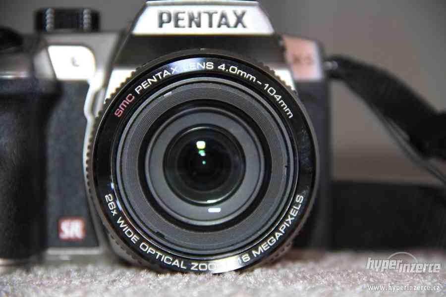 digitální fotoaparát PENTAX X-5, stříbrný