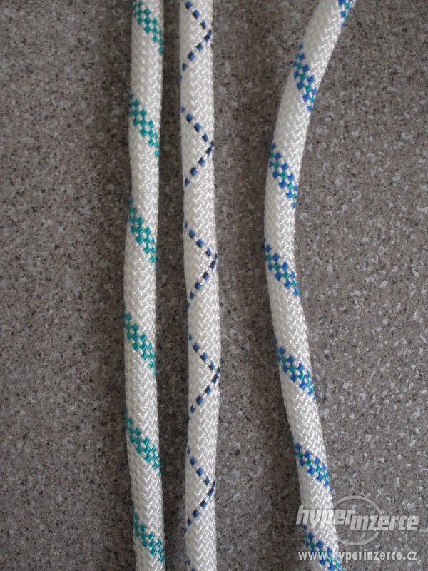 Statické polyamidové lano (PA) s jádrem 10mm - foto 4