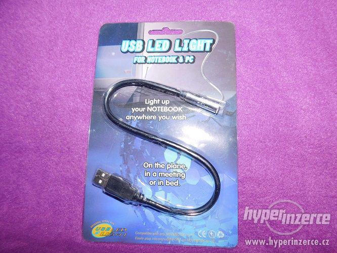 Nová lampička zapojitelná do USB - foto 2
