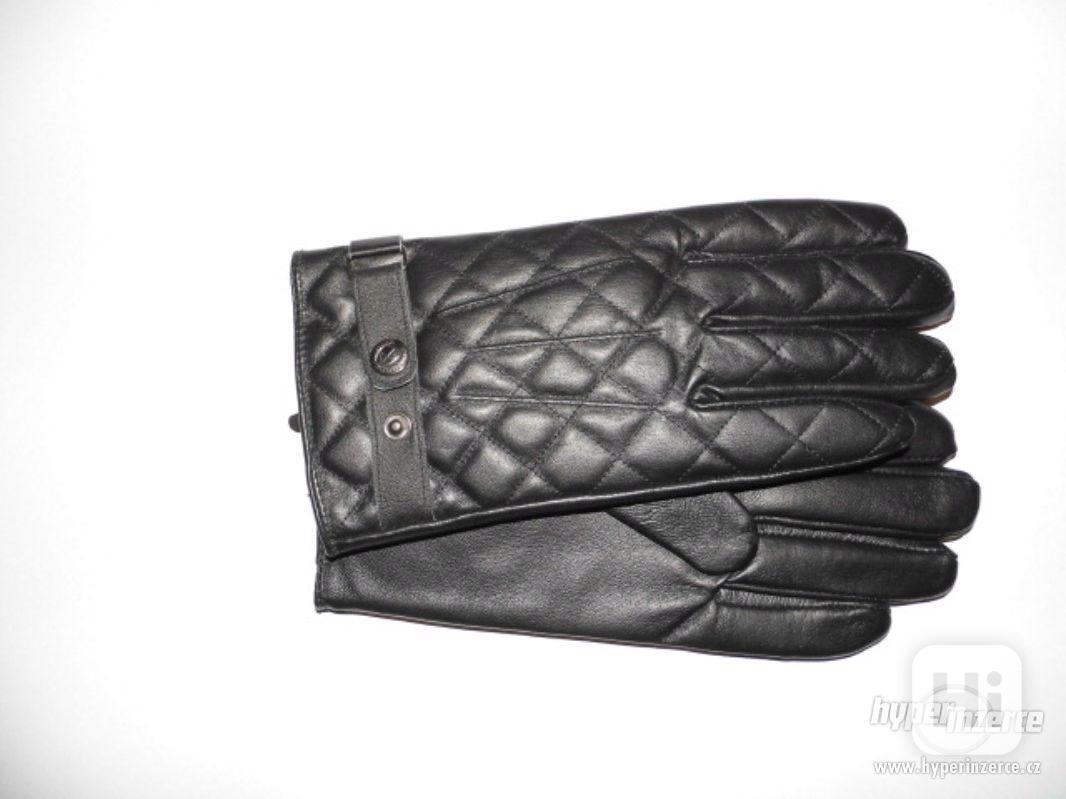 Pánské kožené rukavice (nové s visačkou) - foto 1