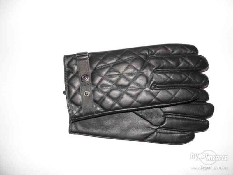 Pánské kožené rukavice (nové s visačkou)