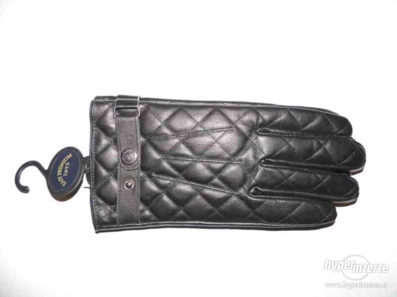 Pánské kožené rukavice (nové s visačkou) - foto 2