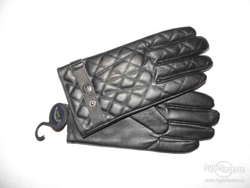 Pánské kožené rukavice (nové s visačkou) - foto 3