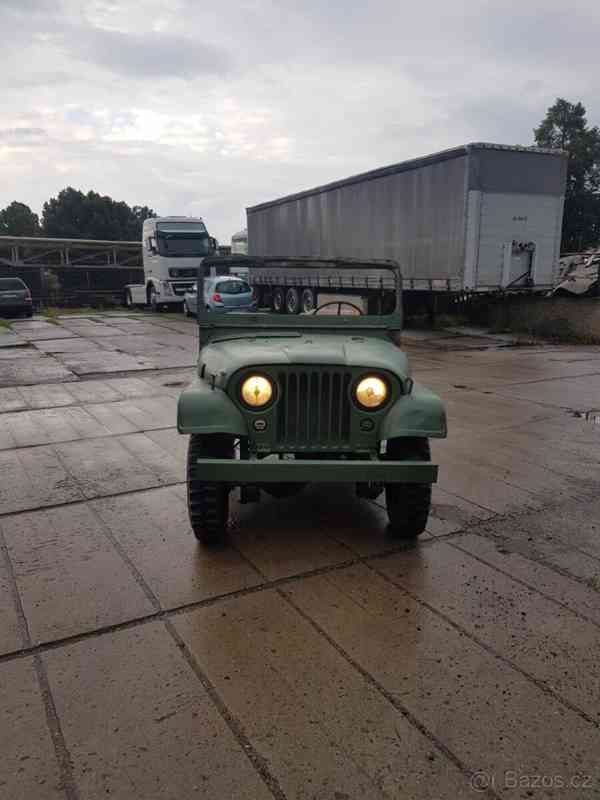 Jeep Willys M38A1 1953