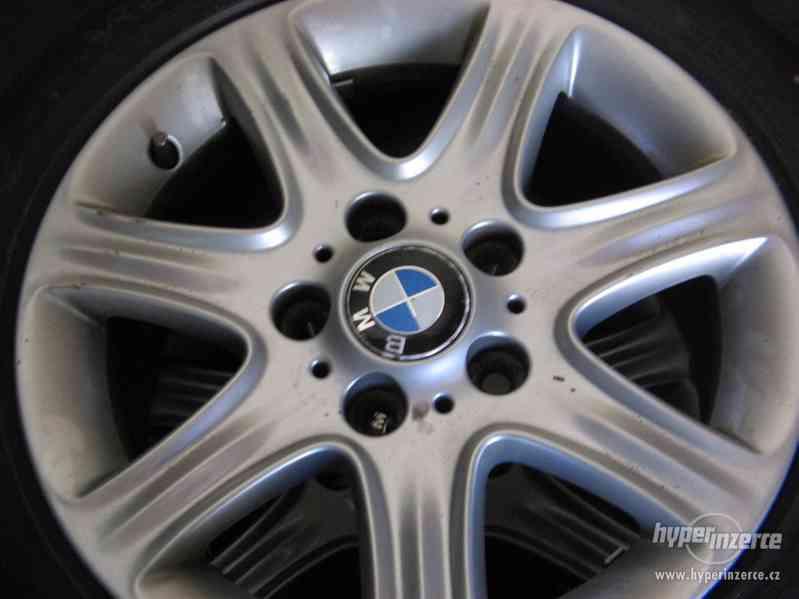 Prodám alu kola, disky, elektrony BMW 1, F20 - foto 4