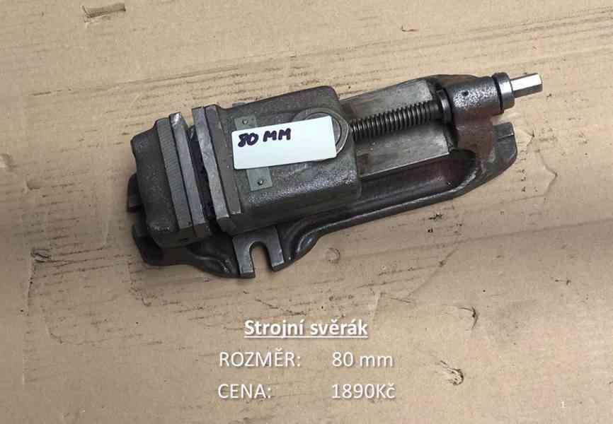 Strojní svěráky 80mm / 100mm / 125mm