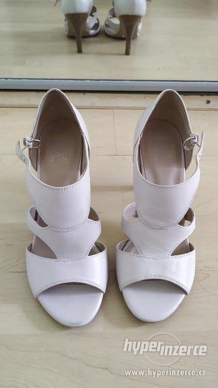 krémové boty Baťa Insolia, vel. 36