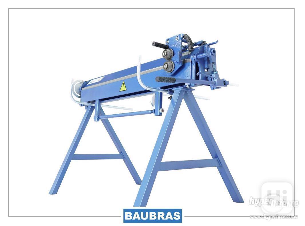 Ohýbačky plechu ZGR 1,4m BAUBRAS  Kovoobráběcí stroje - foto 1
