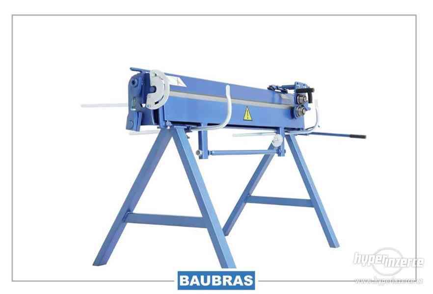 Ohýbačky plechu ZGR 1,4m BAUBRAS  Kovoobráběcí stroje - foto 2