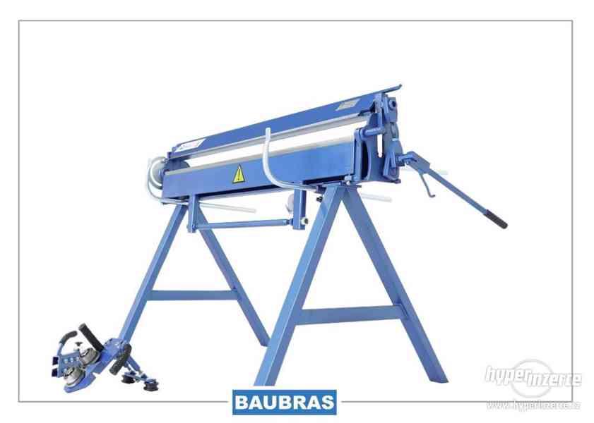 Ohýbačky plechu ZGR 1,4m BAUBRAS  Kovoobráběcí stroje - foto 3