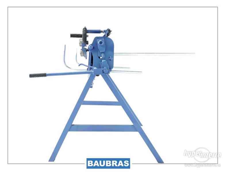 Ohýbačky plechu ZGR 1,4m BAUBRAS  Kovoobráběcí stroje - foto 6