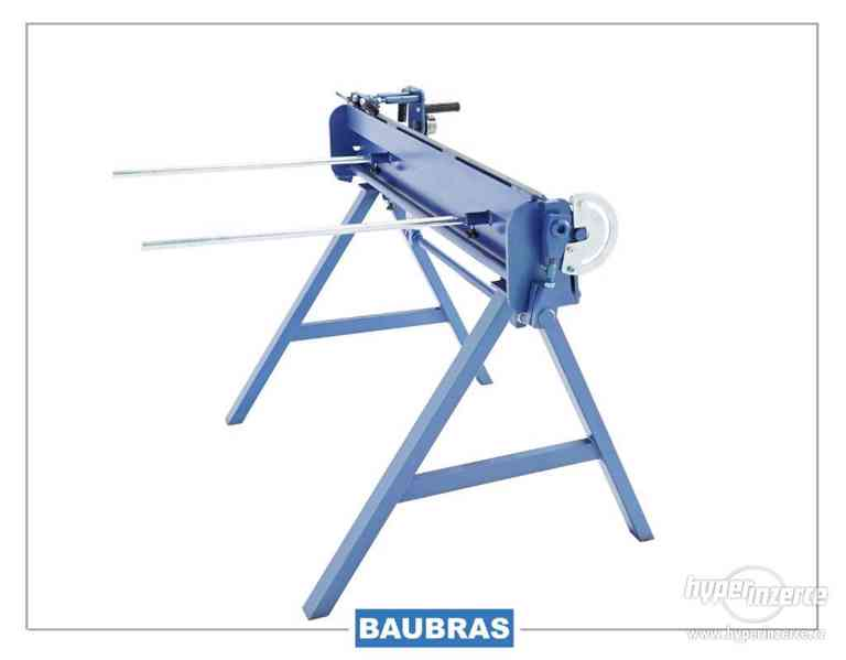 Ohýbačky plechu ZGR 1,4m BAUBRAS  Kovoobráběcí stroje - foto 7