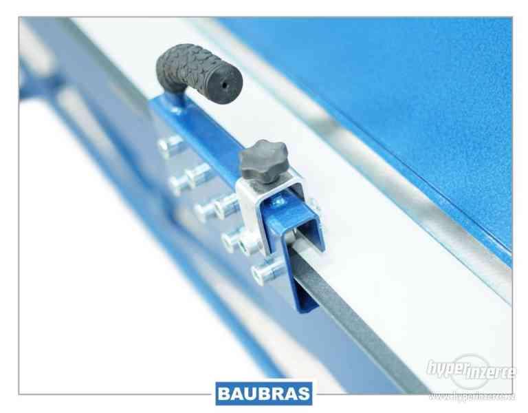 Ohýbačky plechu ZGR 1,4m BAUBRAS  Kovoobráběcí stroje - foto 8