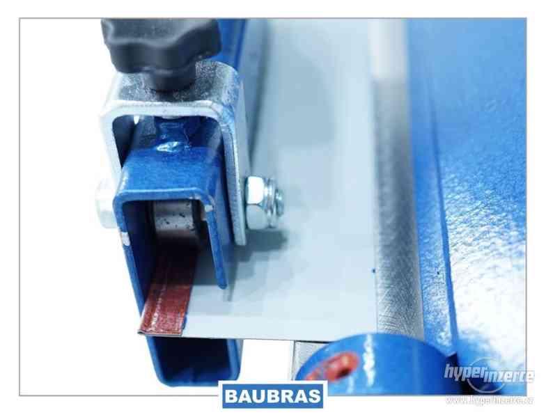 Ohýbačky plechu ZGR 1,4m BAUBRAS  Kovoobráběcí stroje - foto 9