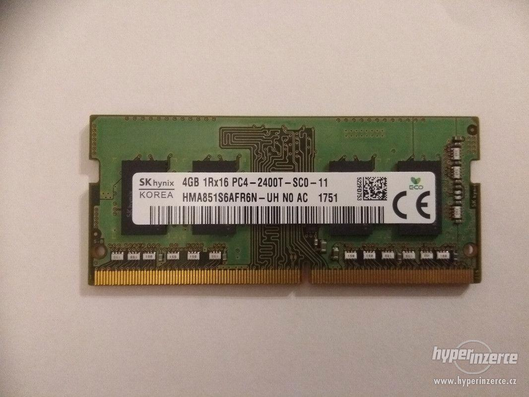 4GB DDR4, RAM, operační paměť pro notebook, SK Hynix - foto 1