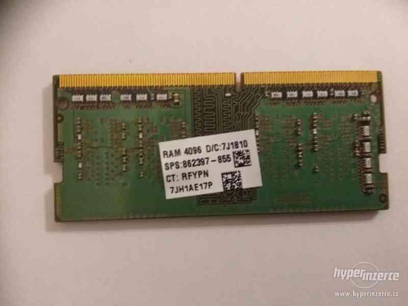 4GB DDR4, RAM, operační paměť pro notebook, SK Hynix - foto 2