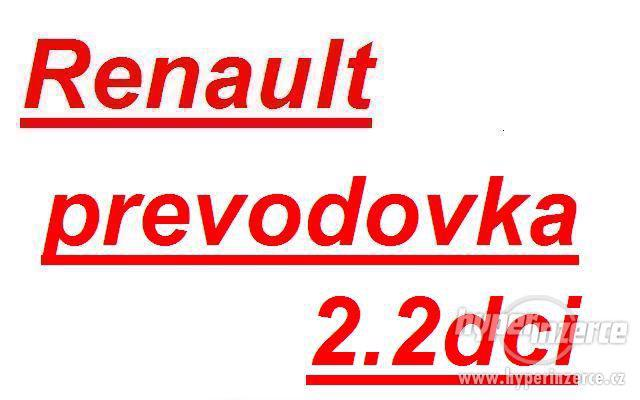 Renault prevodovka MASTER 2.2dci prevodovka master PF6 PK6 P - foto 1