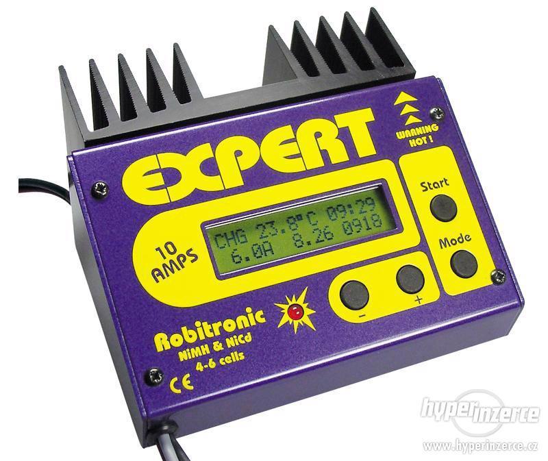 Modelářská nabíječka Robitronic Expert 10AMPS EXP-3P - foto 1