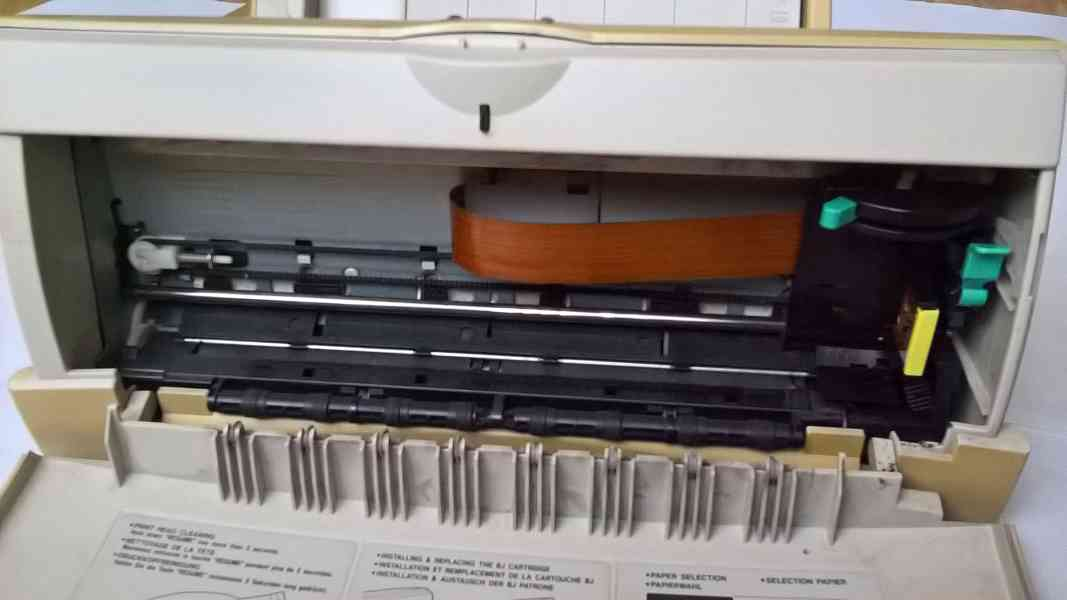 Tiskárna CANON BJC-250 - foto 4