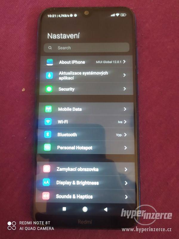Xiaomi redmi note 8t (paměť 128Gb)