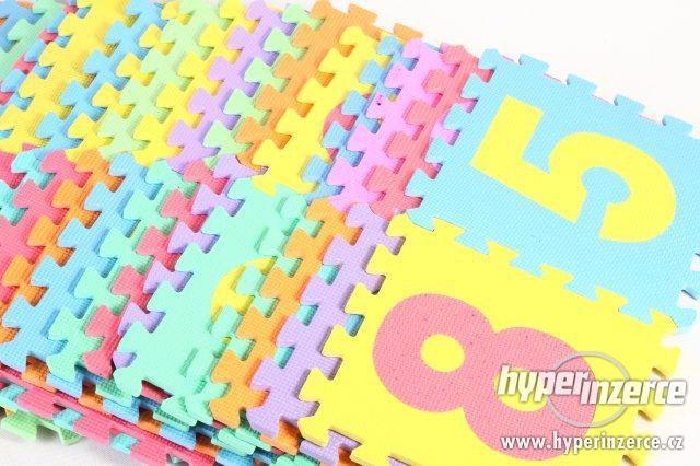 Hrací podložka, veliké pěnové puzzle - 36 dílů
