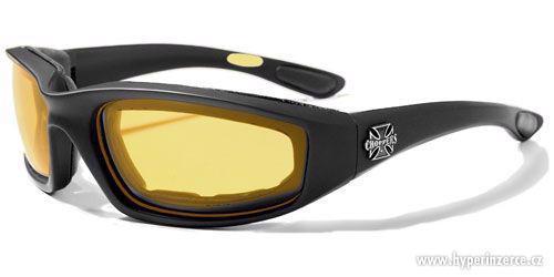 Prodám motorkářské moto sluneční brýle Choppers více druhů - foto 2