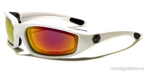 Prodám motorkářské moto sluneční brýle Choppers více druhů - foto 3