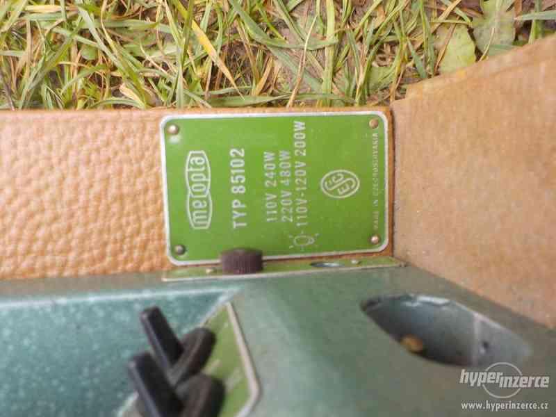 Promítačka Meopta typ 85102 - foto 3