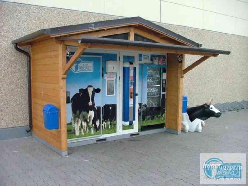 Mléčný automat/ Automat na mléko/ Mlékomat