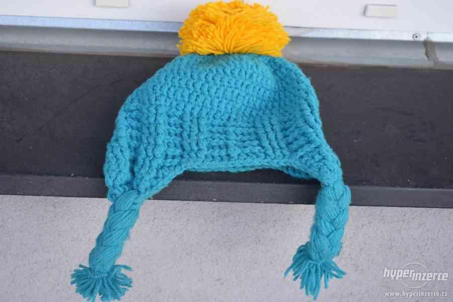 Pletená čepice.