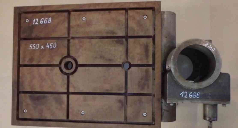 Stůl na vrtačku 550x450 , na průměr sloupu 110 (8465.) - foto 4