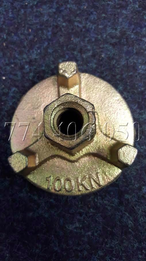 Prodám tyče a matice 70 mm a 100 mm + nosníky H20 - foto 1