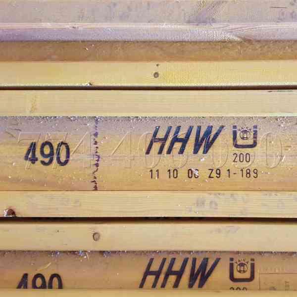 Prodám tyče a matice 70 mm a 100 mm + nosníky H20 - foto 5